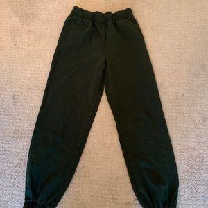 Dark Green Rosa Sweatpants